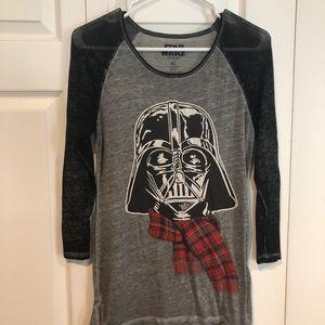 Star Wars Christmas Darth Vader T-shirt